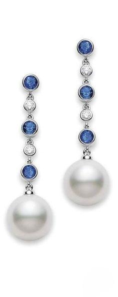 Mikimoto pearls earrings