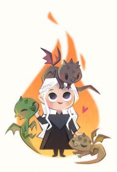 #GameOfThrones #DaenerysTargaryen #Dessin tinysnails #SérieTv