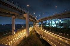 @nifty:デイリーポータルZ:ジャンクションを鑑賞する Scary Bridges, Car Game, Tokyo Tower, Covered Bridges, Tokyo Japan, Urban Landscape, Insomnia, Transportation, Urban