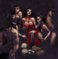 Lilith is rising and offering each, of their own free will, to choose Her and become Her's alone forever.