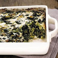 Baked Spinach and Gruyère Recipe