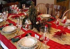 Idee per decorare la tavola a Natale