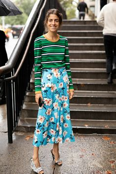 7 Outfits Leandra Medine Wore to New York Fashion Week An Overanalysis of the Outfits Leandra Wore to NYFW Leandra Medine, Cooler Stil, Cooler Look, Printemps Street Style, Spring Street Style, Style Summer, Trend Fashion, Look Fashion, Fashion Tips
