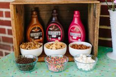 A true party needs confetti, and this Confetti Inspired Ice Cream Birthday Party at Kara's Party Ideas is filled with this true party element! Ice Cream Theme, Diy Ice Cream, Ice Cream Party, Ice Cream Toppings, Cake Toppings, Ice Cream Recipes, Ice Cream Invitation, Sundae Bar, Ice Bars