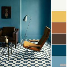 House Color Schemes Interior, Modern Color Schemes, Bedroom Color Schemes, Colour Schemes, Interior Design, Room Colors, Colours, Color Plan, Marmaris