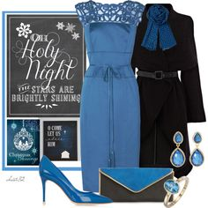 """""""Christmas Blessings"""" by christa72 on Polyvore"""