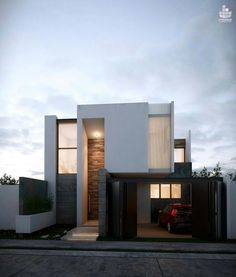 Minimalist House 3 Designed by Creasa
