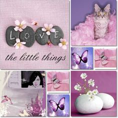 little things, I searched the pictures and put them all together. Made by AT Word Collage, Color Collage, Collages, Rose Varieties, Love Backgrounds, Purple Lilac, Pink, Blue, Collage Making