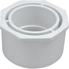 "Genova Products 30232 3"" X 2"" PVC Reducing Bushing"
