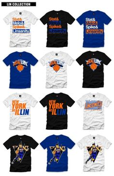 Lin tees for everyone