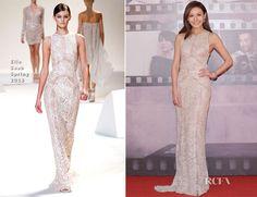 Elanne Kwong In Elie Saab - 2013 Hong Kong Film Awards