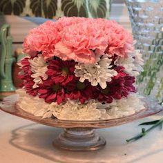 "DIY flower ""cake"""