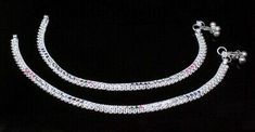 Silver Anklets, Silver Jewelry, Anklet Jewelry, Pairs, Gemstones, Jewels, Detail, Bracelets, Gold