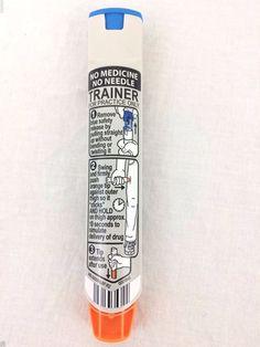 Epi Pen Training Device Practice Safety Audible Click Reusable Model 500-00 #EpiPentrainer