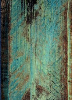 turquoise distressed wood  Nothing better