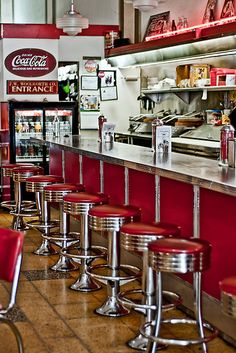 Own/run a retro diner (or at least have a retro diner themed basement)
