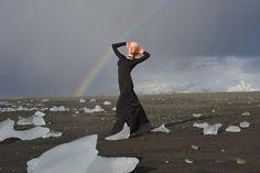 Photographer Captures Dramatic Figures On An Icelandic Landscape