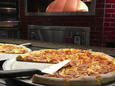 Wood fired pizzas at the Garden Buffet.