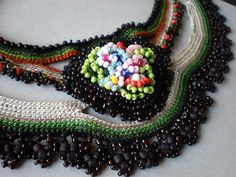 Lilium Parvum... Freeform Crochet Necklace | Flickr - Photo Sharing!
