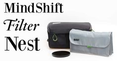 How To Carry Your Photographic Filters If you're a heavy user of crew-on filters for your photography, then you'll need something carry them in and keep them organized. MindShift Gear make a few different options for … Photography Reviews, Photo Accessories, Camera Lens, Filters, Bags, Handbags, Bag, Totes, Hand Bags