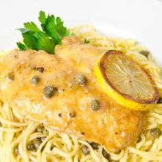 Chicken Piccata with Lemon, Capers and Artichoke Hearts - BigOven