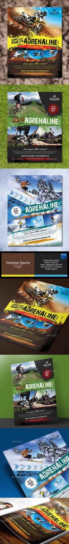Extreme Sports Flyer / Magazine Ad 12817110
