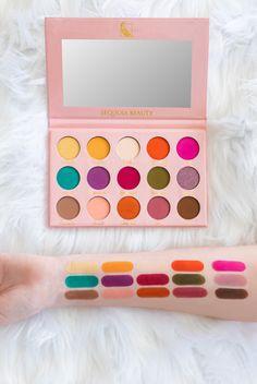 Unicorn Makeup Brushes Set, Makeup Brush Set, Eyeshadow Makeup, Eyeshadow Palette, Makeup Pallets, Creative Eye Makeup, Orange Roses, Metallic Pink, Perfect Makeup