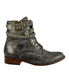 This Patron Black Lula Leather Boot by Patron is perfect! #zulilyfinds