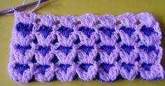 Crochet For Children: Reversible Shell Baby Blanket - Free Pattern