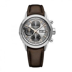 Raymond Weil Freelancer Automatic Watch Silver 10 ATM for sale online Swiss Automatic Watches, Swiss Army Watches, Sport Watches, Cool Watches, Women's Watches, Fashion Watches, Raymond Weil, Silver Pocket Watch, Popular Watches