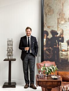 Art Advisor Will Kopelman Devises a Sophisticated Home Office in Los Angeles