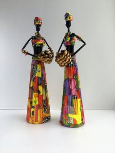 African art doll handmade Africa bookshelf decor : Africa bookshelf decor African art doll handmade Home interior figurine African figurine paper stat African Dolls, African Art, Handmade Home Decor, Etsy Handmade, Paper Dolls, Art Dolls, African Figurines, African Crafts, Newspaper Crafts
