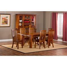 Shop For Outback 7 Piece Table With Leaf Dining Set . Get Free Delivery At