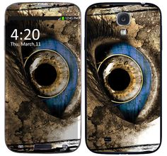 Skin Celular Blue Eye Samsung Galaxy S4