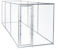 Lucky Dog Chain Link Boxed Kennel ** Don't get left behind, see this great dog product : Dog cages