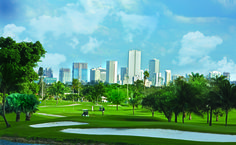 Enjoy golfing? Check out the beautifullly located Melreese #Golf Course in Downtown, Miami!