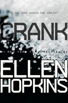 4th most challenged book in 2010: Crank by Ellen Hopkins. Reasons: drugs, offensive language, and sexually explicit.