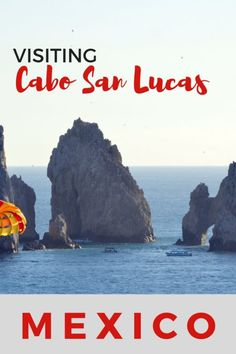 Guide and tips for visiting Cabo San Lucas, Mexico with kids in a day | El Arco in Cabo