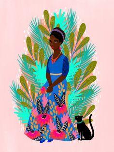 Jess Phoenix illustrated women