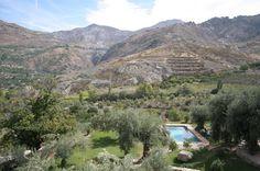 Great Boutique hotel La Almunia del Valle in Granada, Andalucia and very nice staff (and dog)