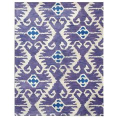 Safavieh Handmade Wyndham Lavender New Zealand Wool Rug - Overstock™ Shopping - Great Deals on Safavieh 7x9 - 10x14 Rugs