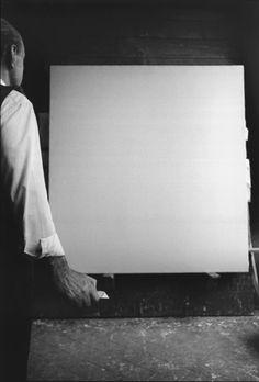 Ugo Mulas, Lucio Fontana, Milano, 1964