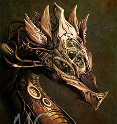 Steampunk dragon ✿ ☂. ✿  ✿