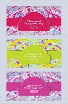 brilliant fashion label background 02 vector