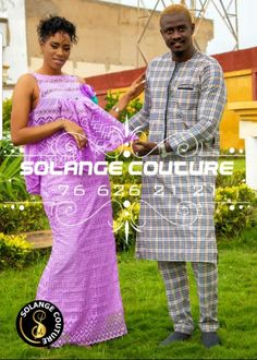African Wear Dresses, Beautiful Couple, African Fashion, Sari, Couples, Womens Fashion, How To Wear, African Print Skirt, Saree