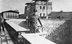 SS Colonel Franz Ziereis, commandant of the Mauthausen concentration death camp. Austria, date uncertain.