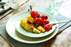 Grilana palenta s mariniranim rajčicama - www.dobra-hrana.hr
