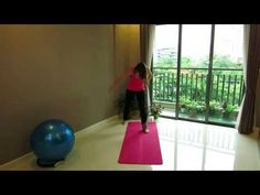 Aerobic Dance for Beginners in 10 minutes - YouTube