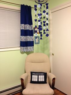 Now this is the way to go! My Doctor Who Nursery