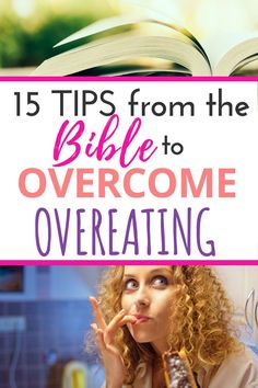 Biblical truths to help set you free from overeating! 15 simple tips for the Christian about how to use the Bible to stop overeating and put your faith in your food choices. Get a FREE Bible Study! Healthy Diet Plans, Get Healthy, Healthy Food, Stop Overeating, Overeating Disorder, Lose 5 Pounds, Lose Weight Naturally, Reduce Weight, Weight Loss Inspiration